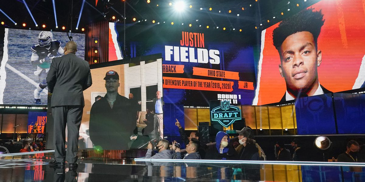 Ohio State QB Justin Fields drafted 11th overall by Chicago Bears