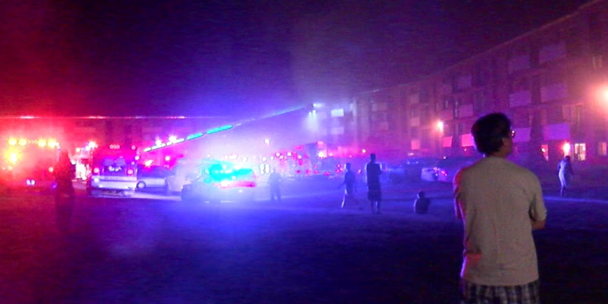 1 dead, more than 100 displaced after apartment complex ...