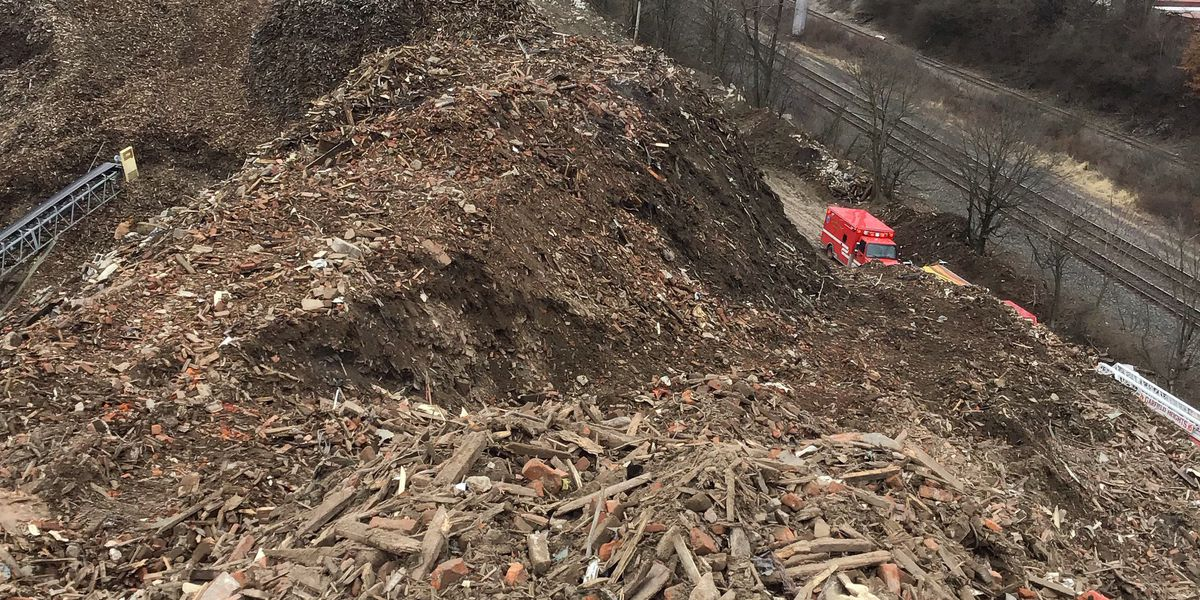 Debris pile at recycling center called 'hazardous' by Ohio Attorney General