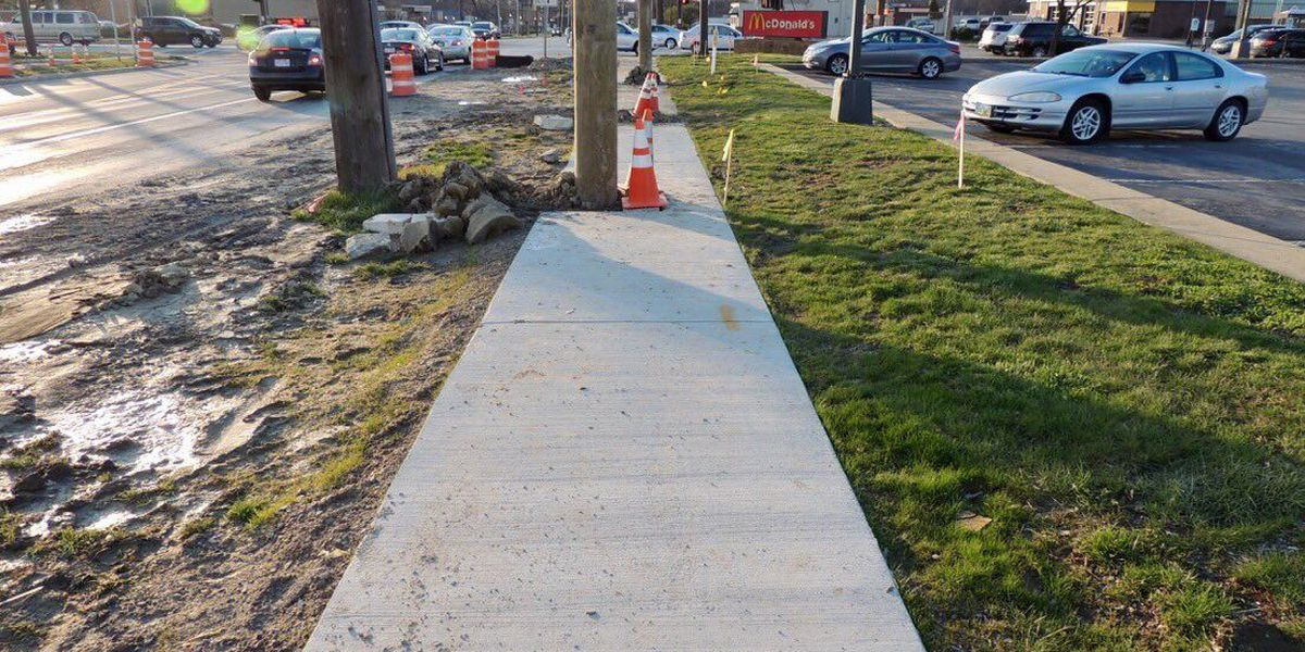 Utility pole in middle of Middleburg Heights sidewalk leaves some scratching their heads