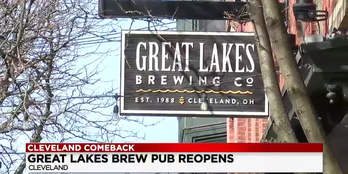 Great Lakes Brewpub reopens after closing for winter season due to pandemic