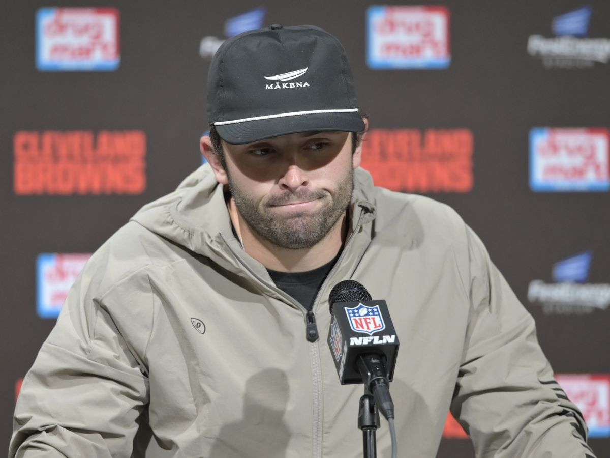 Mayfield fined after comments on officiating following loss to Seahawks