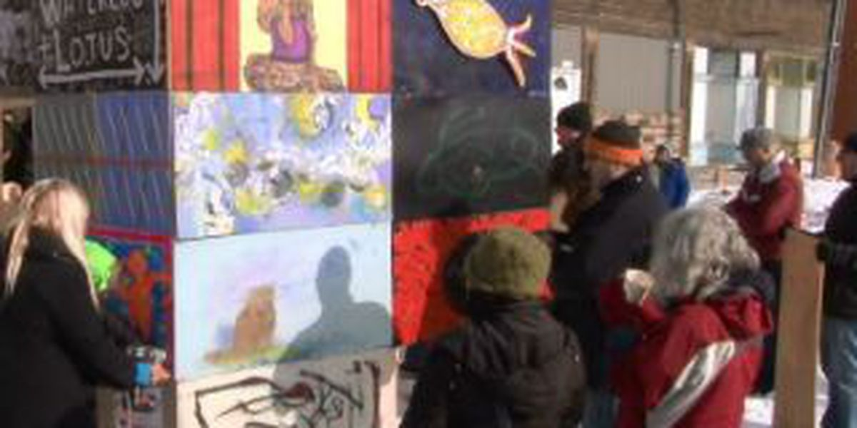 Moon3- unique project on Waterloo Rd. brings together 32 artists