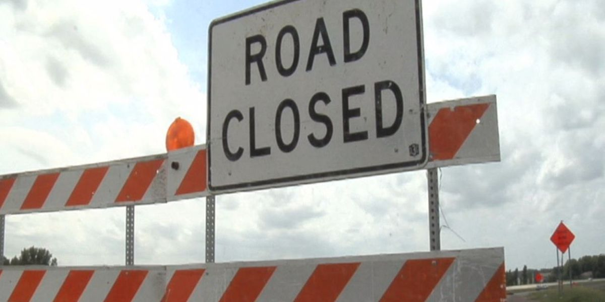Construction work on I-271 SB closing lanes and ramps throughout the weekend