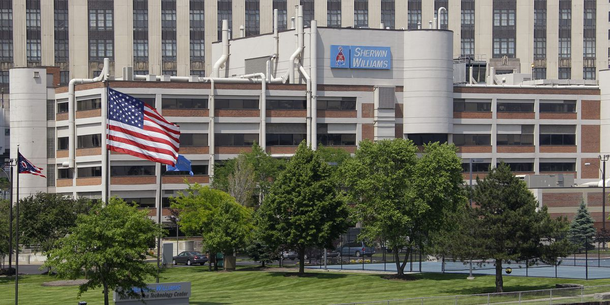 Pause during pandemic means move to Sherwin-Williams' new HQ likely won't occur until 2024