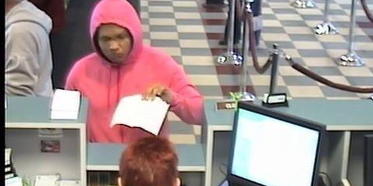 Police searching for bank robbery suspect