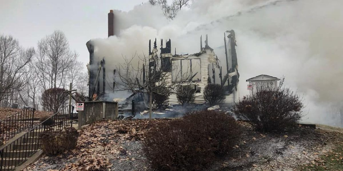 Stark County church built in 1870 destroyed by fire