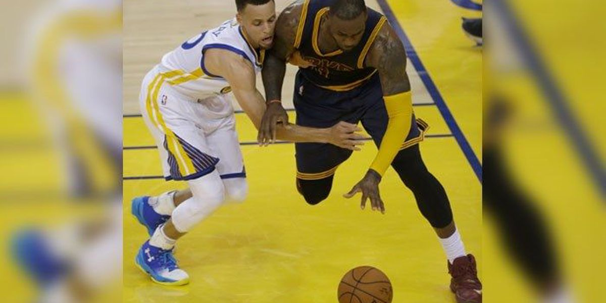 LeBron to teammates, 'The time is ours'; Warriors could tie 2 more NBA records