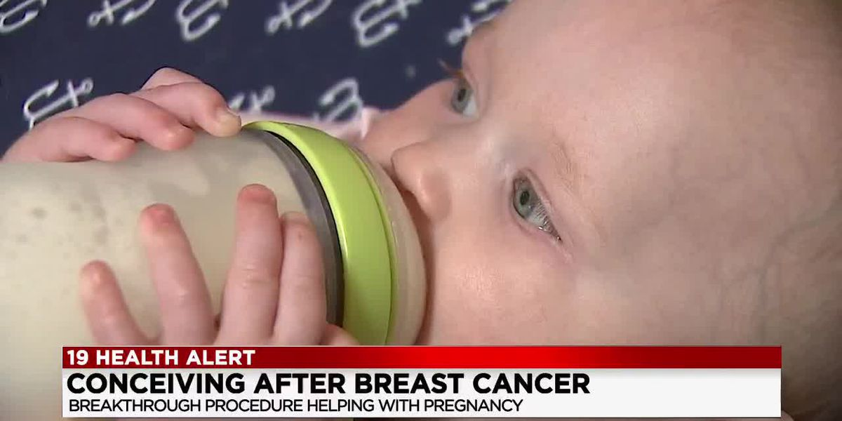 Woman overcomes breast cancer and fulfills her dream of motherhood