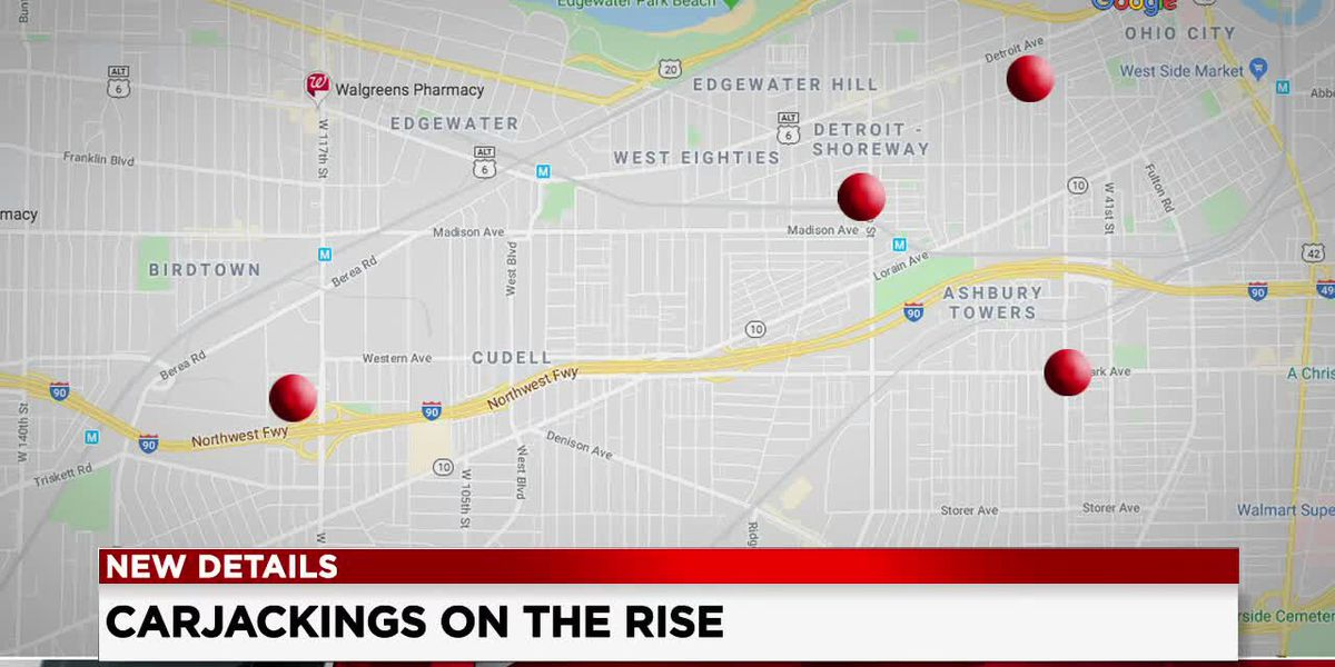 West side plagued by a string of armed carjackings