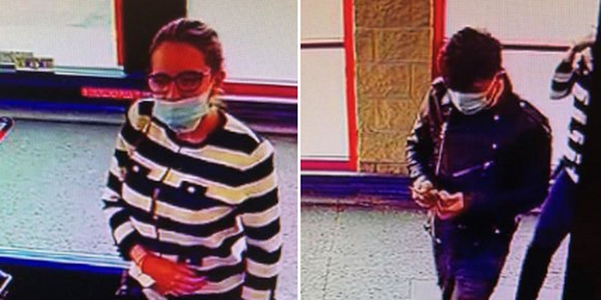 2 suspects in gift card scam and theft from Vermilion Giant Eagle wanted by Lorain County CSI