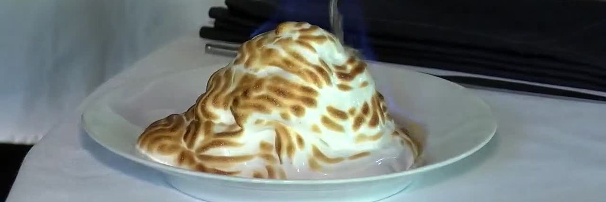Cleveland Cooks: Sharing is optional when it comes to Sapphire Creek's baked Alaska