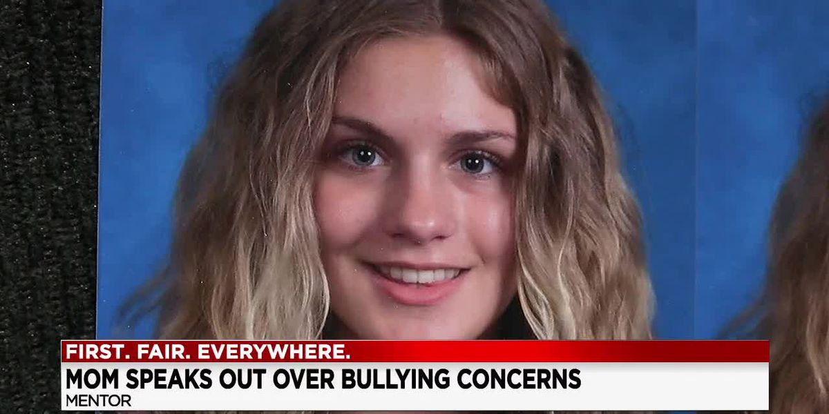 Mentor, Ohio mother claims bullying played a role in her 13-year-old daughter's suicide last month