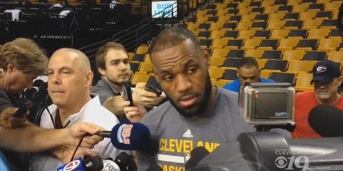 LeBron says he has more 'comfort of being on the road, being in hostile buildings'
