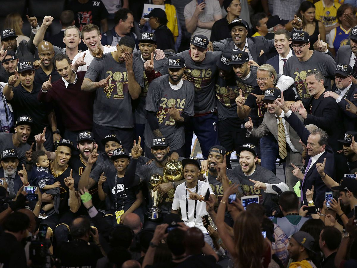 3 years ago, the Cleveland Cavaliers won their 1st NBA championship; relive the celebrations (video)
