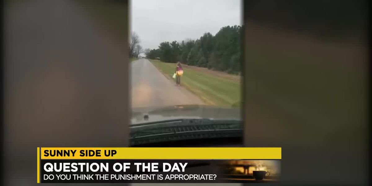Sunny Side: Dad makes daughter, 10, walk 5 miles after bullying suspension