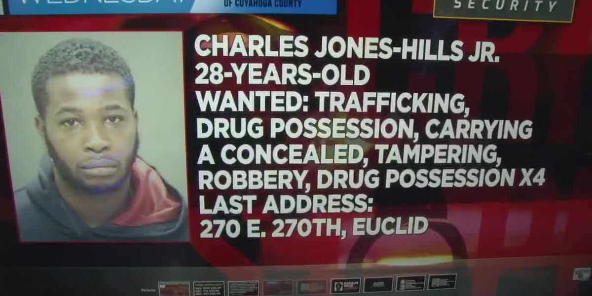 Possible Heartless Felons gang member wanted on 26 drug and gun charges in Cuyahoga County