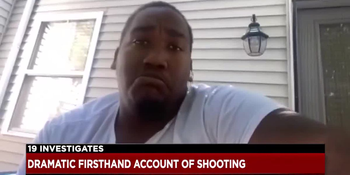 Man who witnessed police shooting outside Beachwood mall says officer put his family in danger