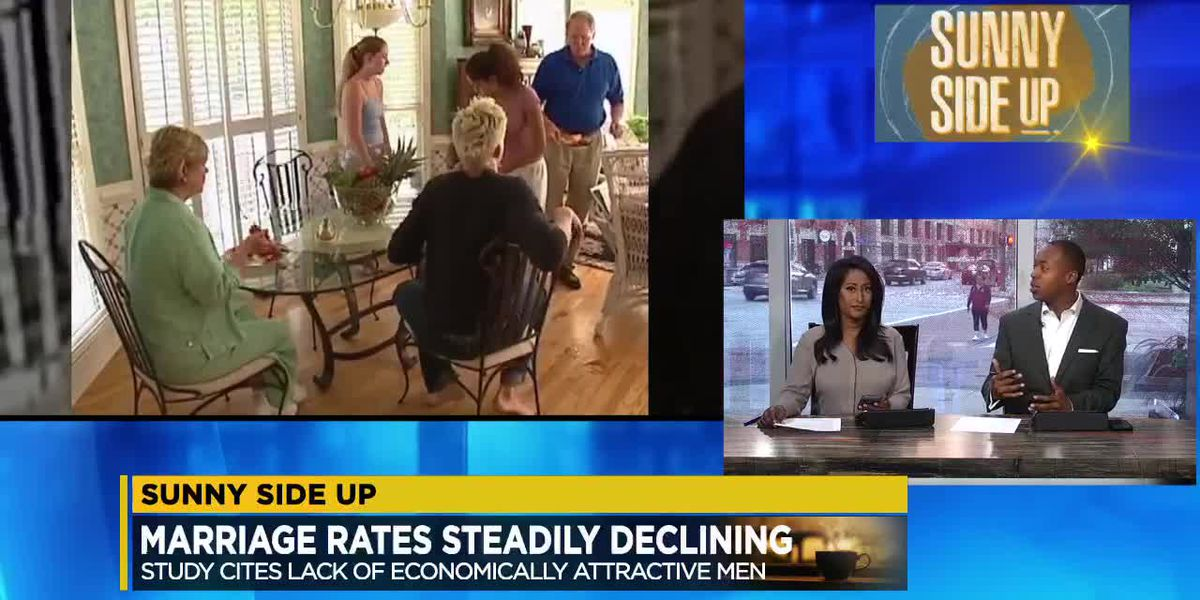 Sunny Side Up: What do you think is the reason for the decline in the marriage rate?