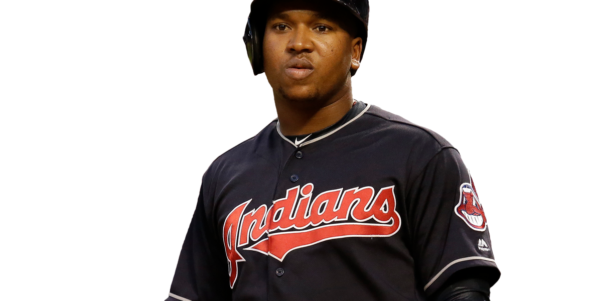 Jose Ramirez carted off field, X-rays negative on leg
