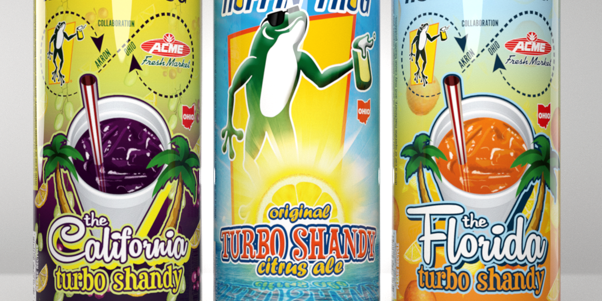 Hoppin' Frog brewery introduces new beer inspired by Akron favorites