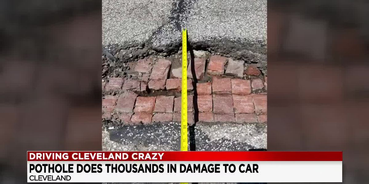 City of Cleveland could compensate for cars damaged by potholes