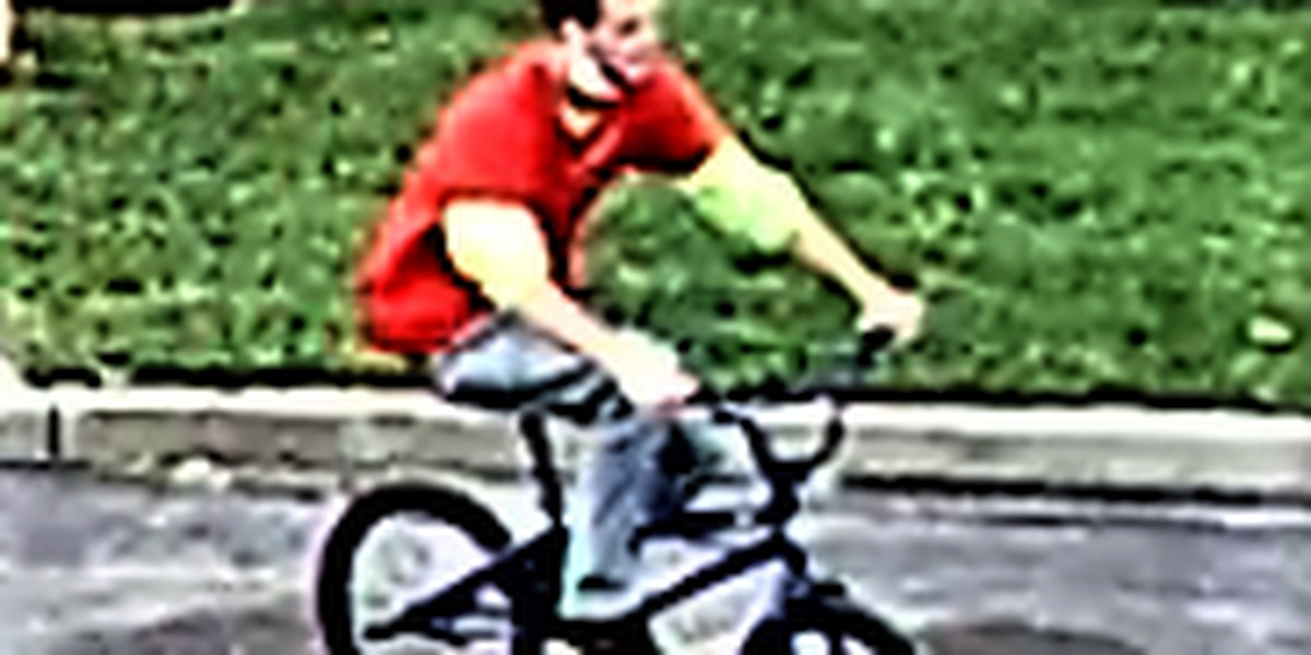 Cleveland Police searching for the man accused of robbing bike from 16-year-old boy
