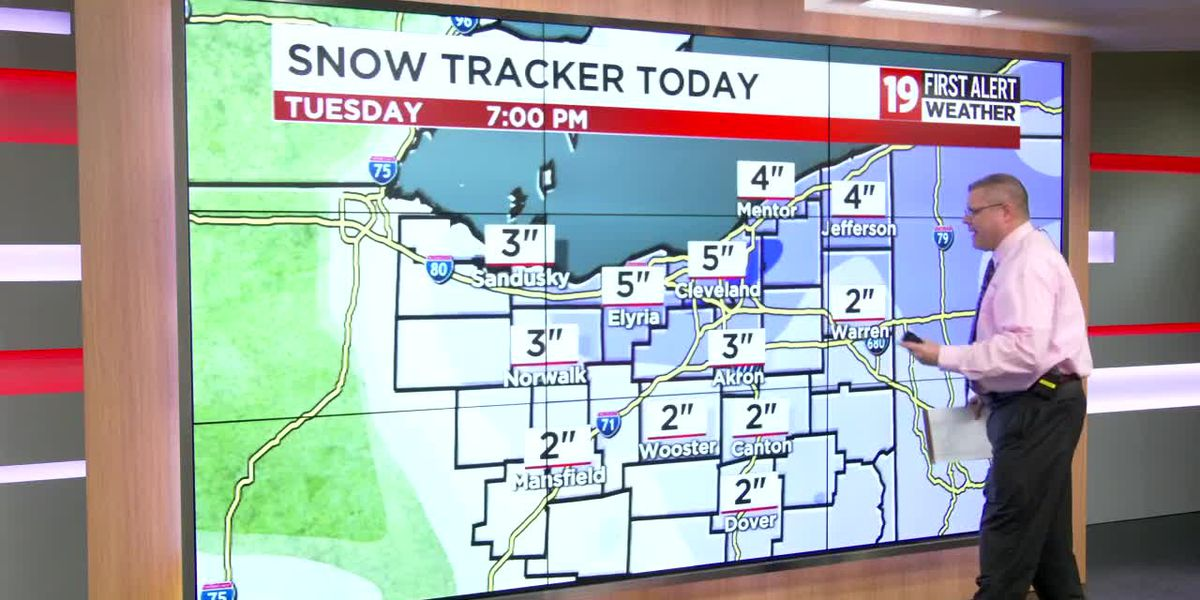 FIRST ALERT DAY: Snow makes travel difficult this morning; 6 inches of snow still expected in spots (live updates)