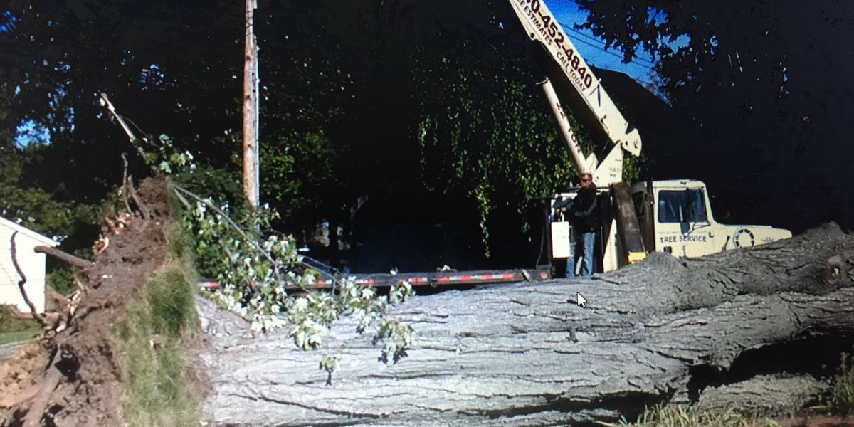 Nearly 1,000 Northeast Ohioans still without power Monday evening after Saturday's storm