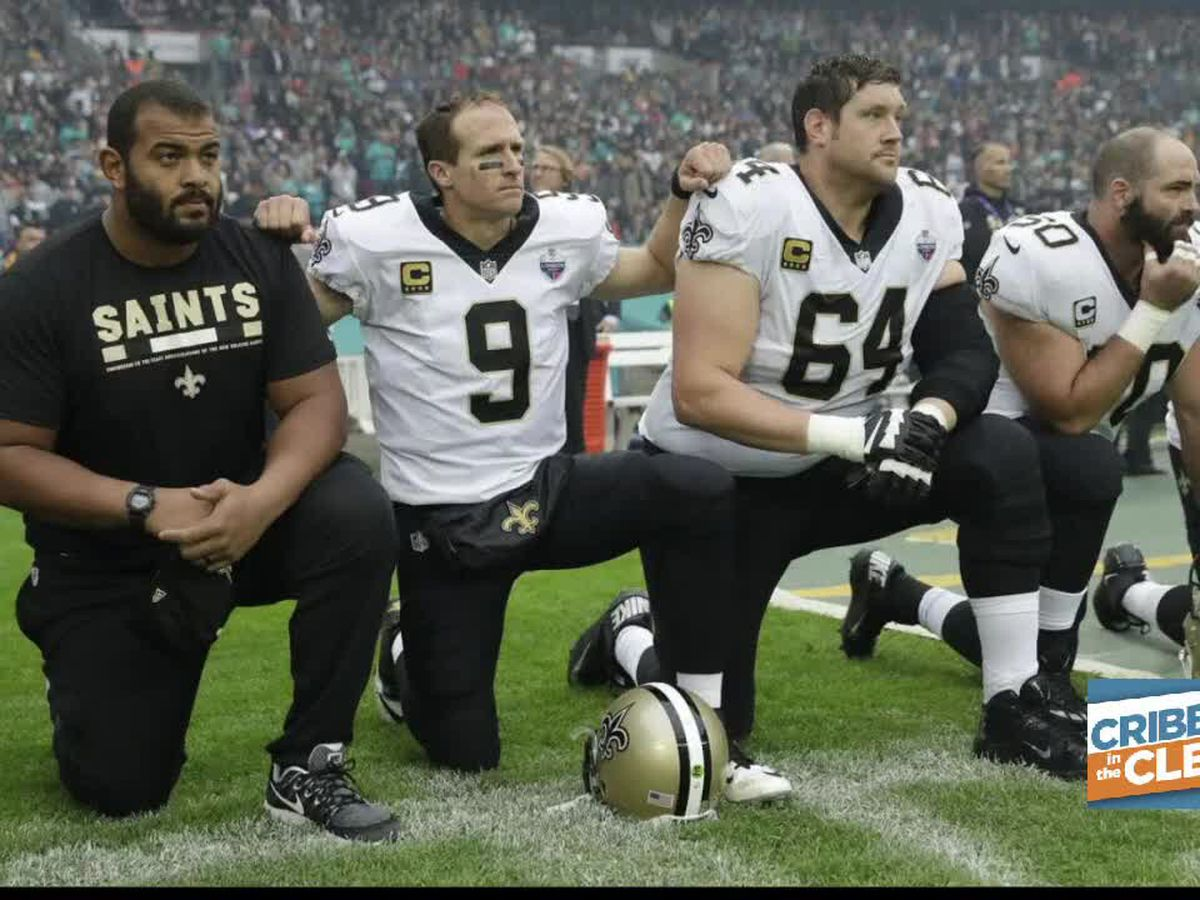 Drew Brees apologizes after facing backlash for his comments on NFL players kneeling during national anthem