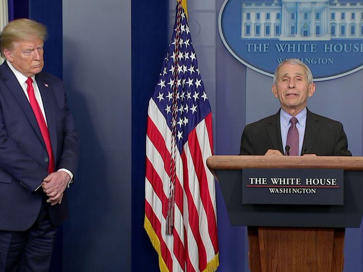 White House officials raise questions about Fauci