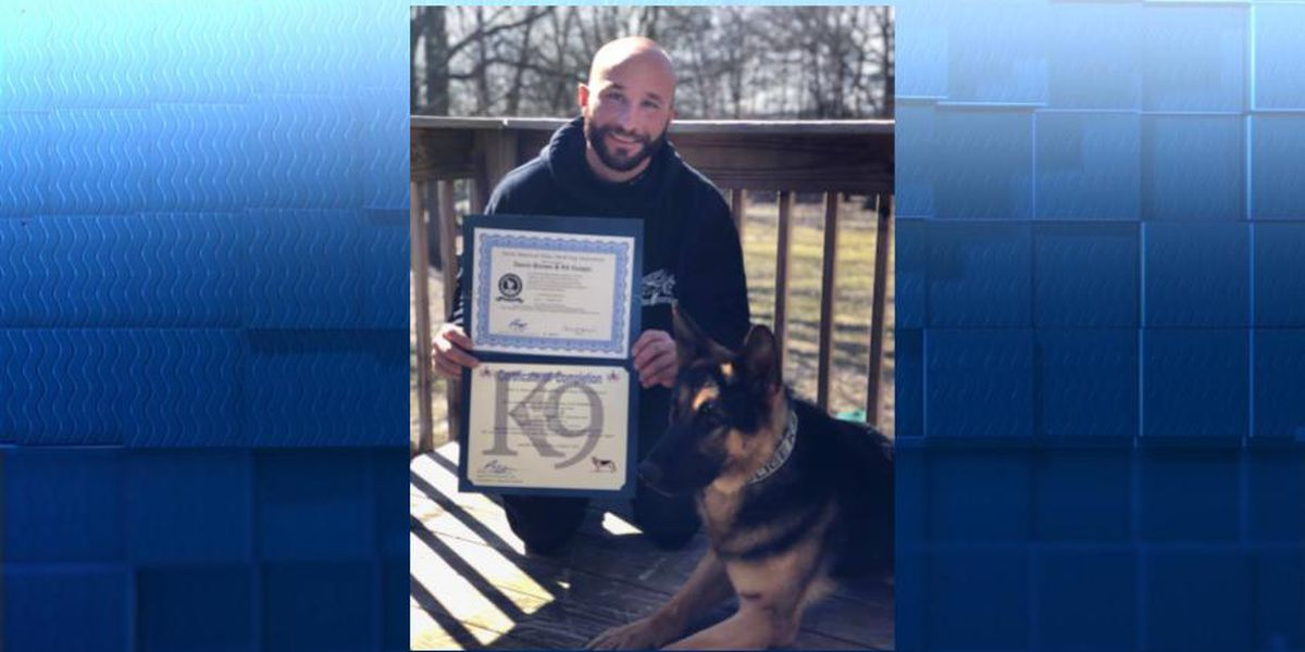 Hiram police K-9 officer passes state certification, ready to hit the streets