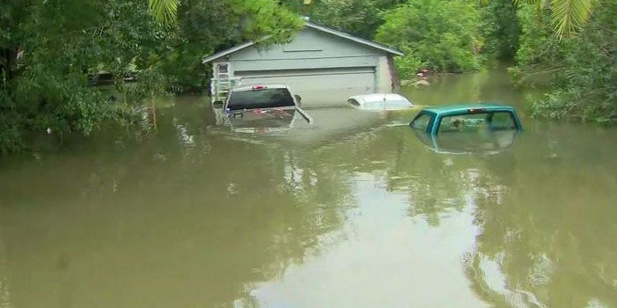 Houston received more rain in 72 hours than Cleveland in 9 months