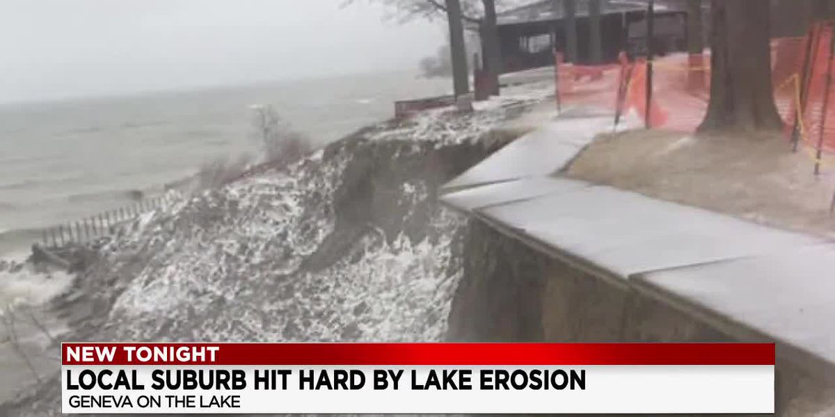 Geneva-on-the-Lake officials to meet about shrinking shoreline