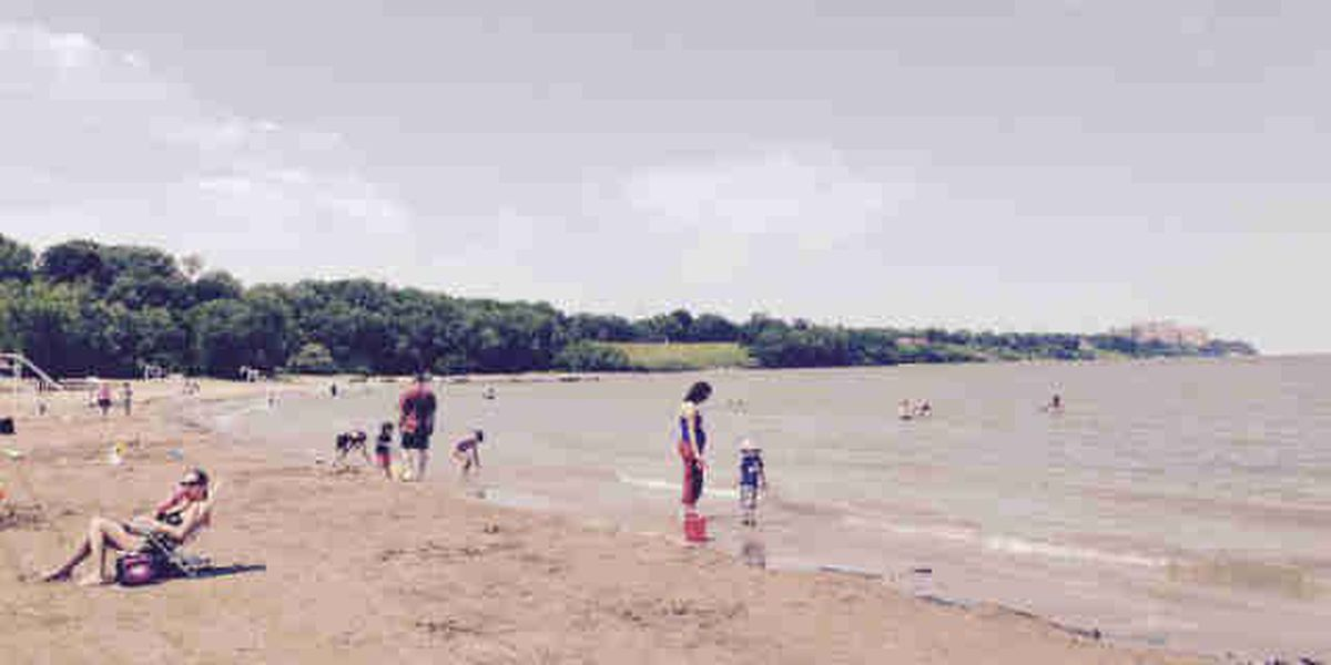 Raw sewage overflow into Lake Erie prompts swimming advisory at Edgewater Beach