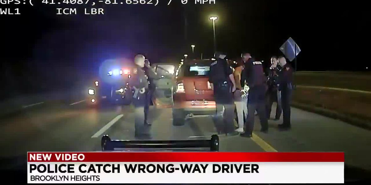 Suspected drunk driver travels the wrong way on I-480 for nearly seven miles