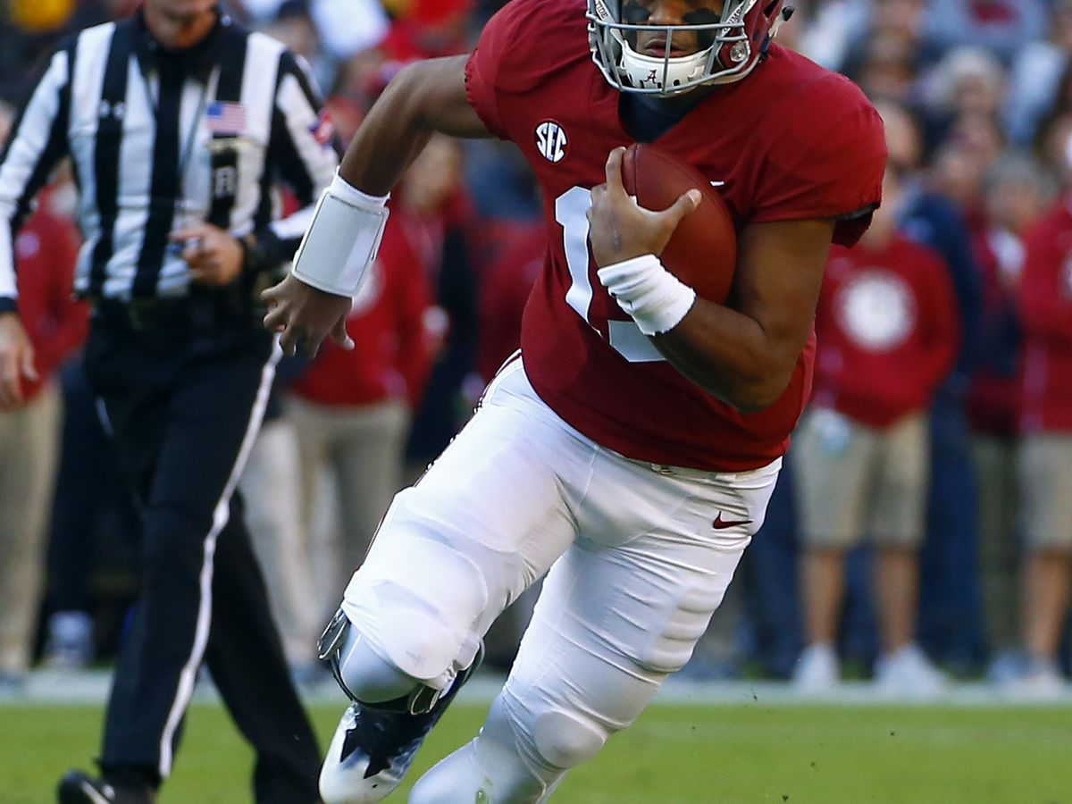 Saban has no plans to sit 'Bama QB Tau Tagovailoa this week
