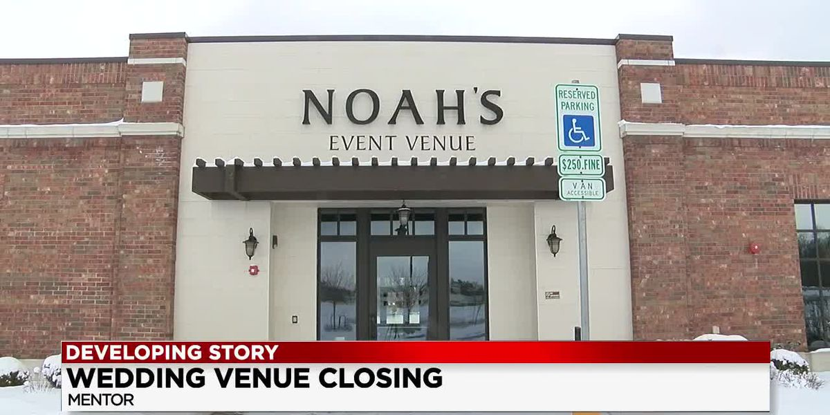 Couple left stranded after Noah's Event Venue goes under