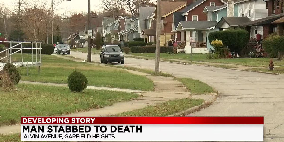 Cleveland man stabbed to death, ex-girlfriend claims self-defense