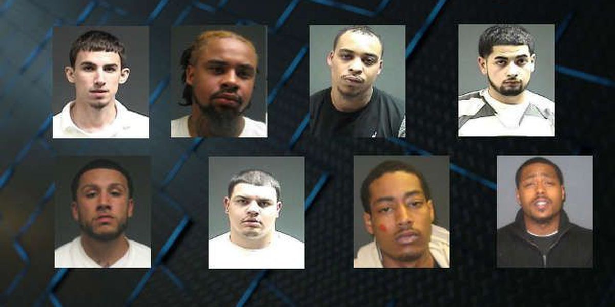 Police: 13 arrested in drug, gang sweep