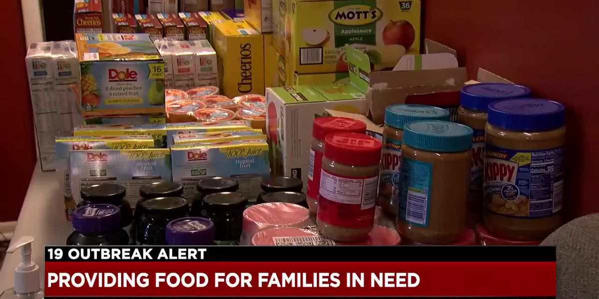 NEO health advocacy organization collects food for needy children and their families