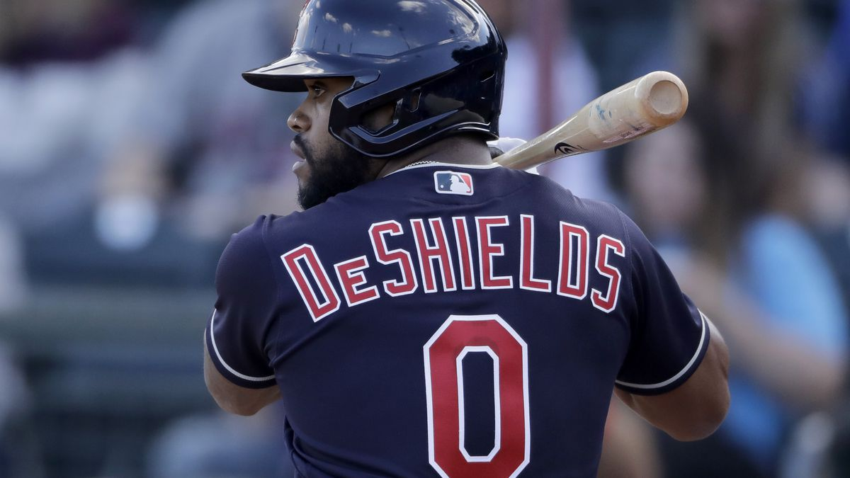 Indians CF Delino DeShields Jr. tests positive for COVID-19