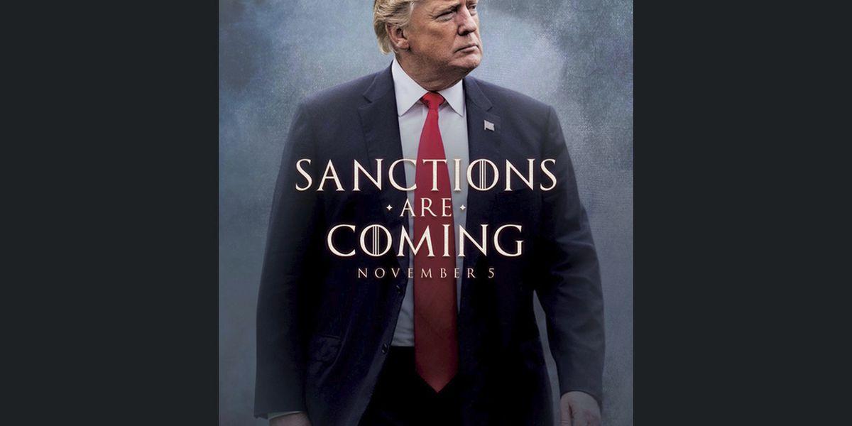 The Latest: EU expresses deep regret over US-Iran sanctions