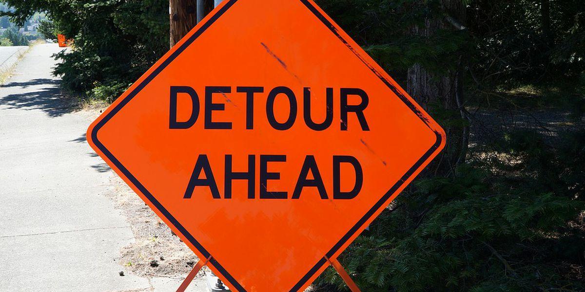 Water main break forces road closure in Shaker Heights