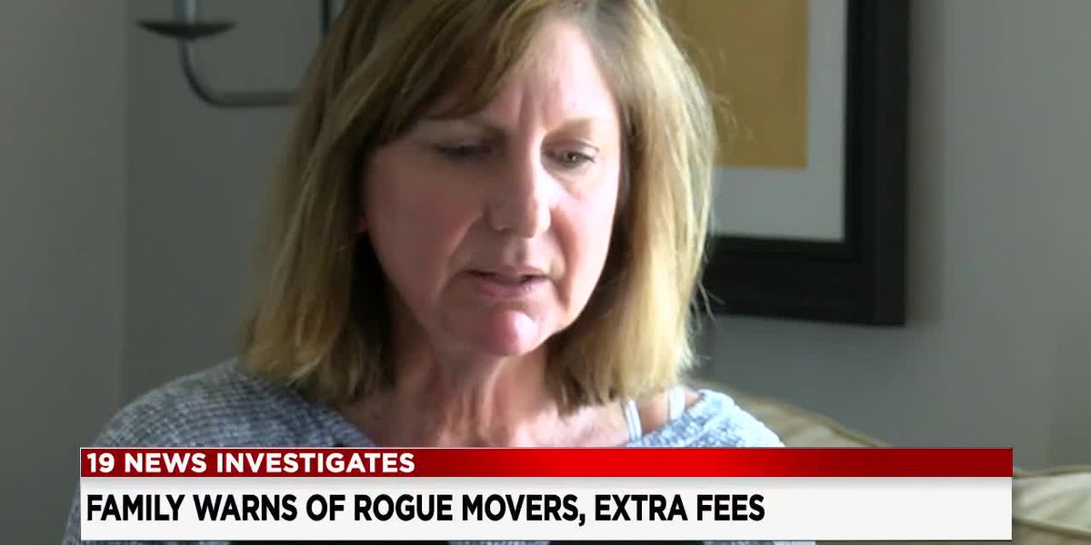 'They have your stuff hostage': Woman says moving company refused to unload truck without additional payment