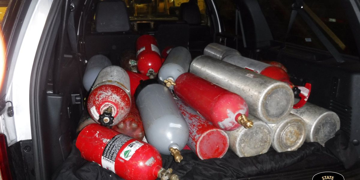 State troopers seize $177,000+ worth of nitrous oxide during Summit County traffic stop