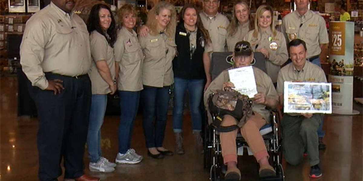 Cabela's makes wish come true for hospice patient