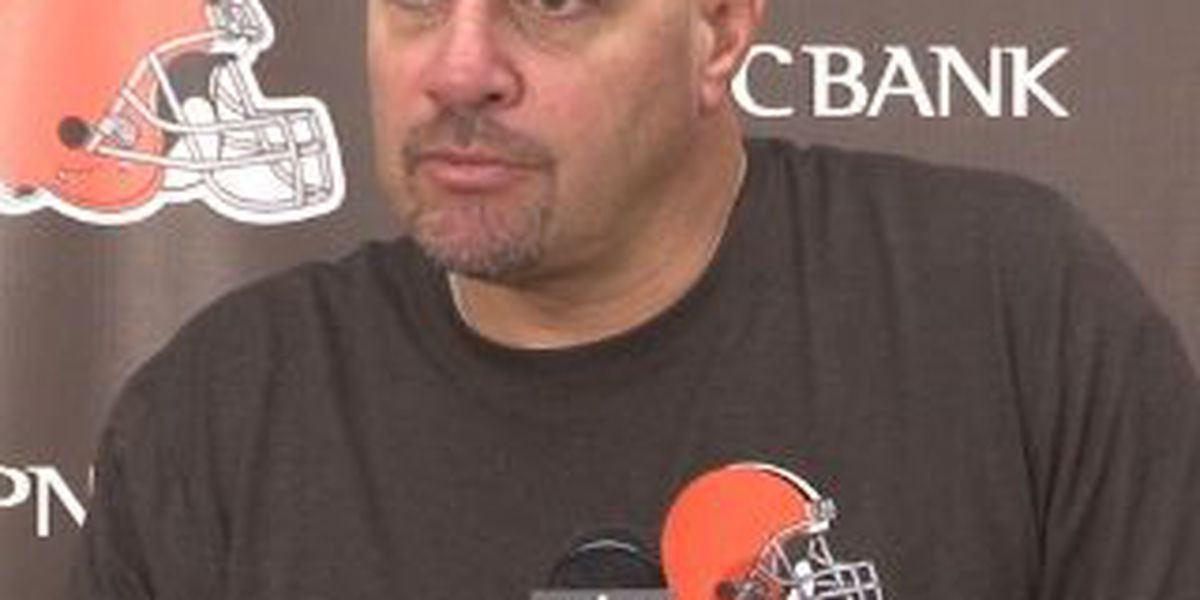 Browns Wednesday: Mike Pettine transcript