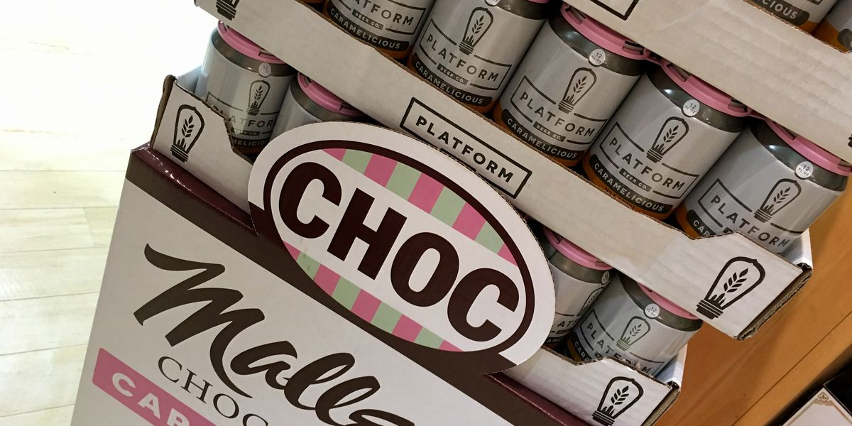 Malley's Chocolates, Platform Beer Co. team up for 'Caramelicious' brew