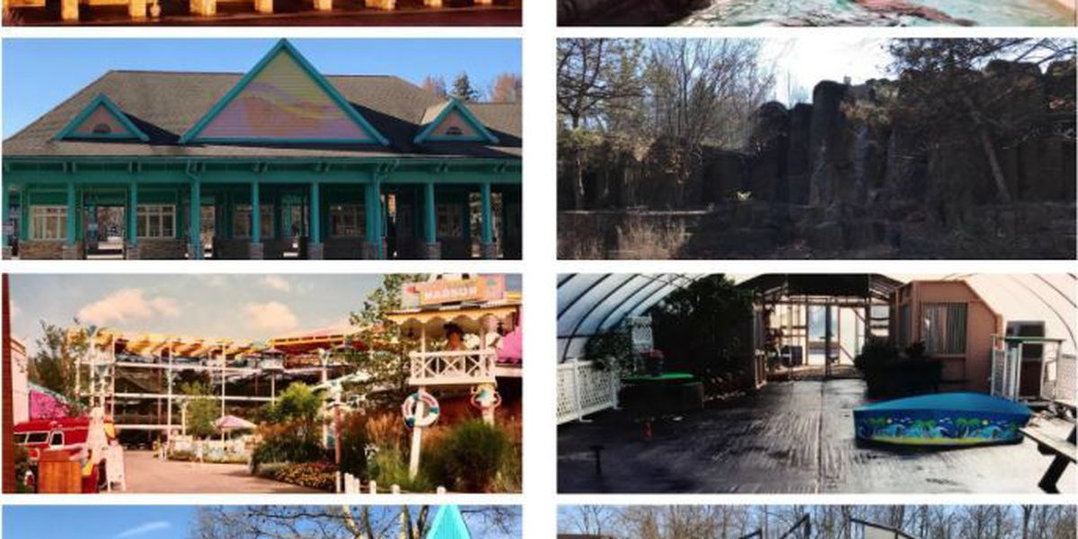 SeaWorld Ohio: Before and after photos taken by employee shows theme park in ruins years later (gallery)